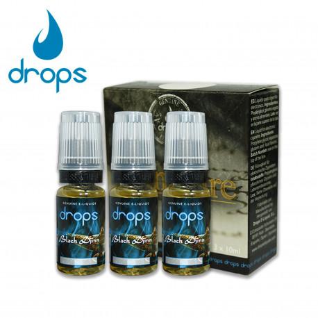 E-líquido DROPS BLACK DJINN 3mg/ml Tripack 3x10ml