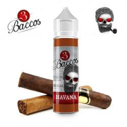 E-líquido 3 Baccos Havana TPD 50ml Sin Nicotina