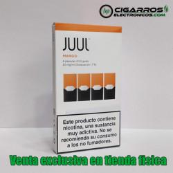 4x Cápsulas JUUL Pods Mango 20mg/ml 0,7ml