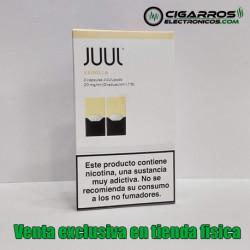 2x Cápsulas JUUL Pods Vainilla 20mg/ml 0,7ml