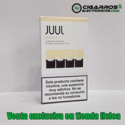 4x Cápsulas JUUL Pods Vainilla 20mg/ml 0,7ml