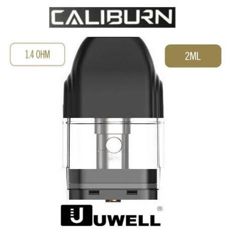 Pod para Uwell Caliburn 2ml 1.4 Ohm