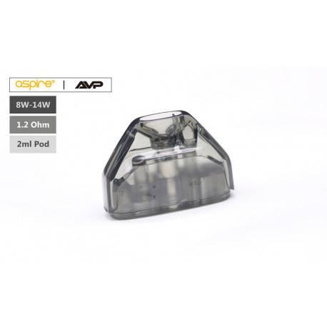 Pod para Aspire AVP 2ml 1.2 Ohm