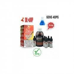 Pack Base para Vapear OIL4VAP 200ml 40PG/60VG 3mg/ml
