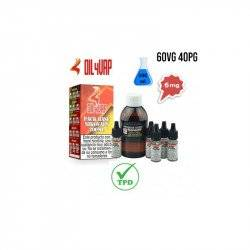 Pack Base para Vapear OIL4VAP 200ml 40PG/60VG 6mg/ml