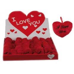 Corazón de Peluche I Love You (10 cm)