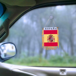 Banderín de España con Ventosa