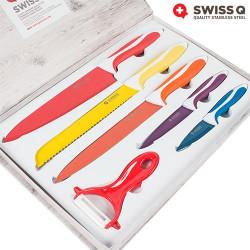 Cuchillos Revestimiento Cerámica Swiss Q (6 Piezas)