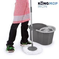 Fregona Giratoria con Cubo Kong Mop Iron