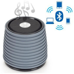 Altavoz Bluetooth Recargable AudioSonic Blanco