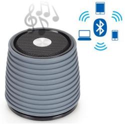 Altavoz Bluetooth Recargable AudioSonic Gris