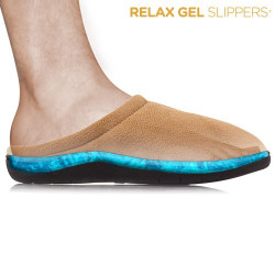 Zapatillas Relax Gel Slippers Marrón S