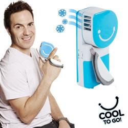 Aire Acondicionado Portátil Cool to Go! Negro