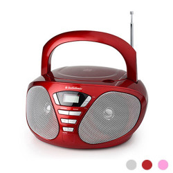 Radio CD Stereo AudioSonic CD1567 Rosa