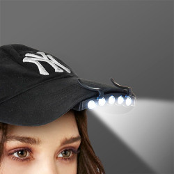 Linterna LED para Gorra
