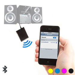 Adaptador Bluetooth de Audio Azul
