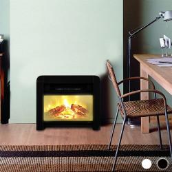 Estufa Eléctrica de Mica Eco Class Heaters EF 1200W Blanco