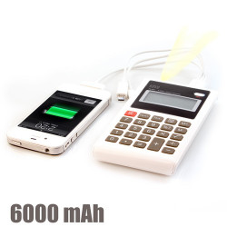 Calculadora Power Bank 6000 mAh