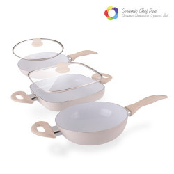 Sartenes Ceramic Chef Pan Elegance Edition (5 piezas)