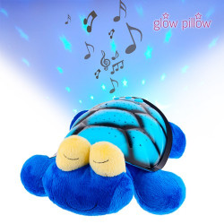 Peluche Proyector LED Glow Pillow Tortuga
