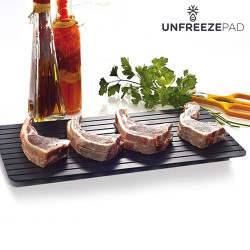 Placa Descongeladora de Alimentos Unfreeze Pad