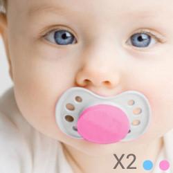 Chupetes para Bebés (pack de 2) Azul
