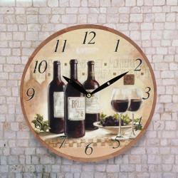 Reloj de Pared Vino