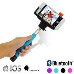 Monopié Bluetooth para Móviles Rosa