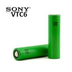 Batería recargable 18650 Sony VTC6 3000 mAh 30A