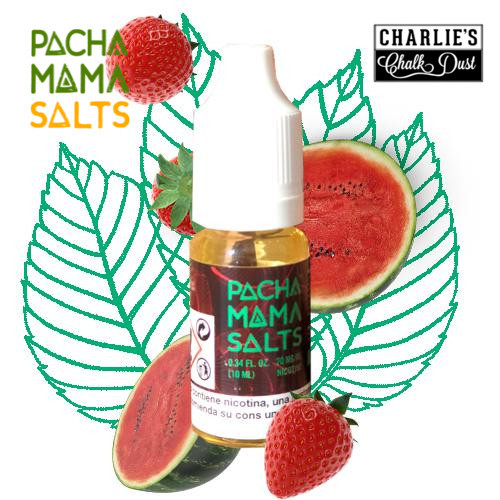 E-líquido Pachamama Salts Strawberry Watermelon 20mg/ml 10ml